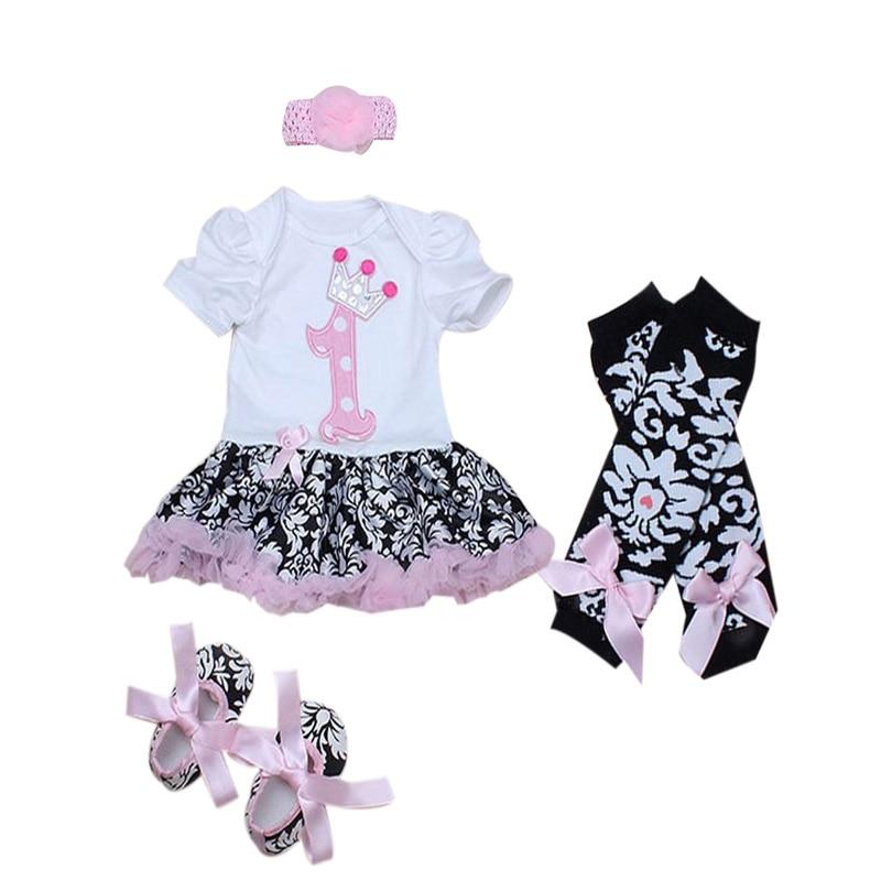 Cute Star Black Anti Slip Baby Shoes