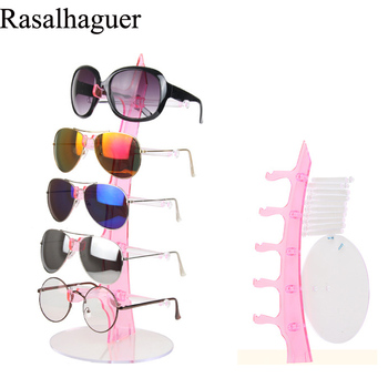 free Shipping Fashion Sail 5 Pairs Glasses Display Stand Counter Plastic Sunglasses Display Props Mirror Sunglasses Display Rack free shipping sensor la8n bn la8n bf le8n bn le8n bf autonics counter digital display counter timer