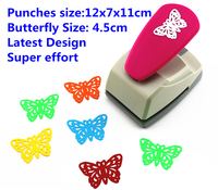 Butterfly Punch Latest Design Super Save Effort Shaper Craft Punch Scrapbooking Punches Paper Puncher DIY ToolsS8563