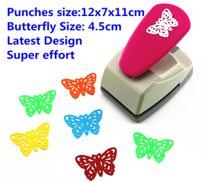 Image 1 - butterfly punch latest design super Save effort Shaper Craft Punch Scrapbooking Punches Paper Puncher DIY toolsS8563