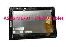 Freies Verschiffen 10,1 zoll LED LCD Digitizer Touchscreen Glasaufbau Ersatz Für Asus Transformer TF701T TF701 5449N FPC-1
