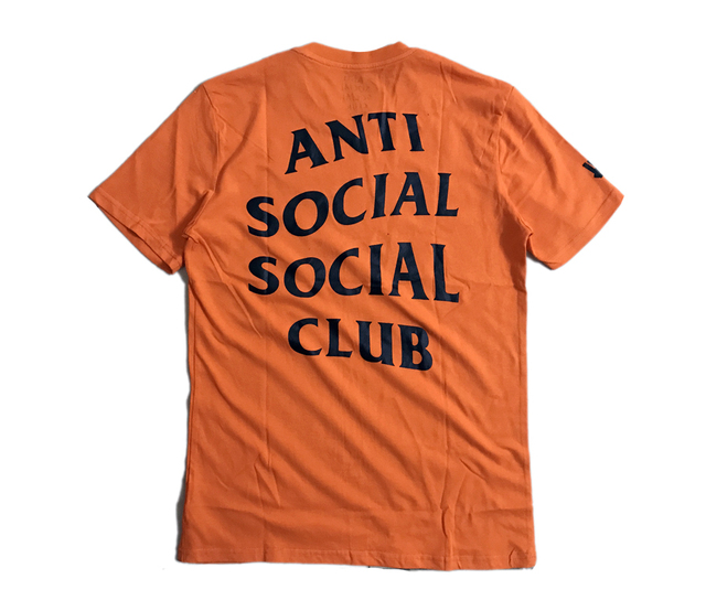 388502763b4c ANTI SOCIAL SOCIAL CLUB T Shirt 1 1 Men Women Paranoid Undefeated Summer ASSC  T-shirt Top Tees ANTI SOCIAL SOCIAL CLUB T Shirt