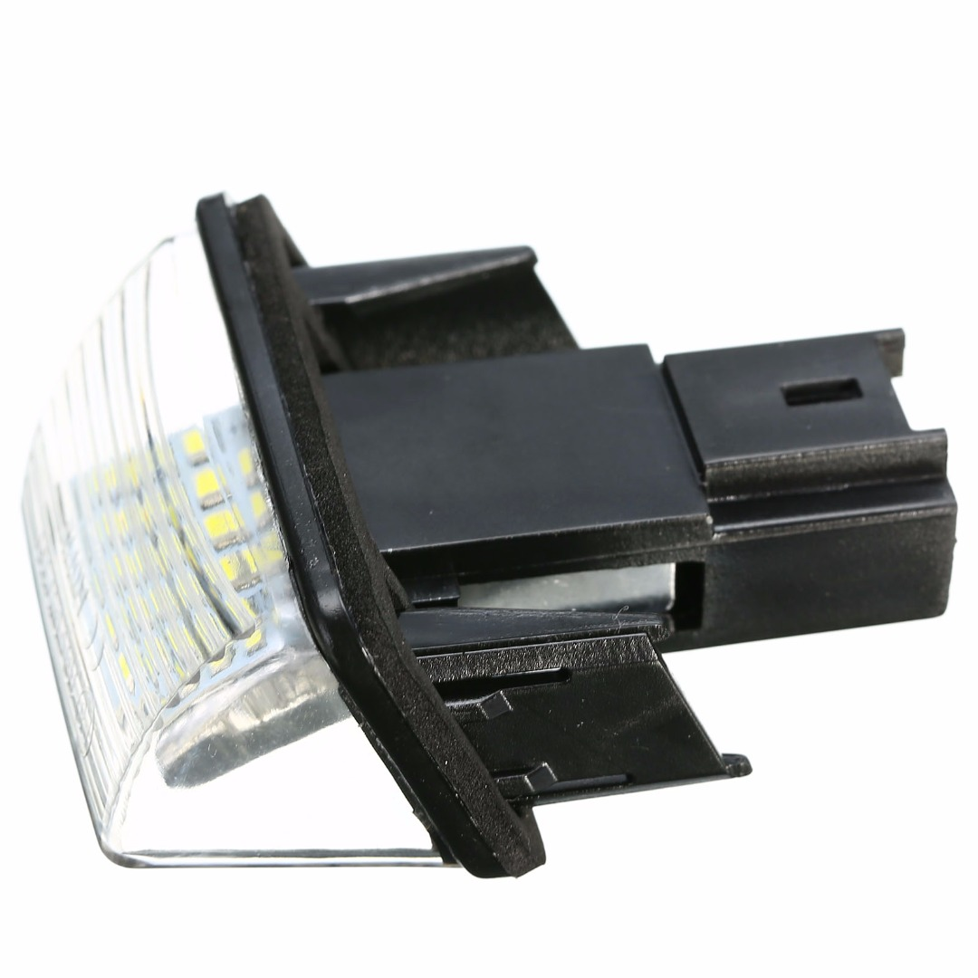 Hot 1PCS 12V 18LED Car Number License Plate Light Lamp 6500K for Citroen C3 C4 C5 C6 Peugeot 206 207 307 308