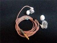 DIY earphone Noise Reduction monitor earphone 6mm speaker