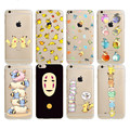 Pikachue pocket monsters pokemons rosto case capa do telefone para iphone 7 7 plus 6 6 S Plus 5 5S SE macio Claro Silicon Back Cover Shell