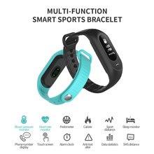 SKMEI smartwatches Для женщин Приборы для измерения артериального давления сердечного ритма Мониторы Смарт часы браслет напоминание Сенсорный экран Цифровые наручные часы