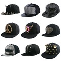 new fashion  HORN shaped spikes rivet  women snapback caps wholesale men hip hop baseball cap monster brand men snapbacks hat
