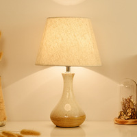 TUDA 25X40cm Free Shipping American Country Style Table Lamp Ceramic Table Lamp For Living Room Bedroom