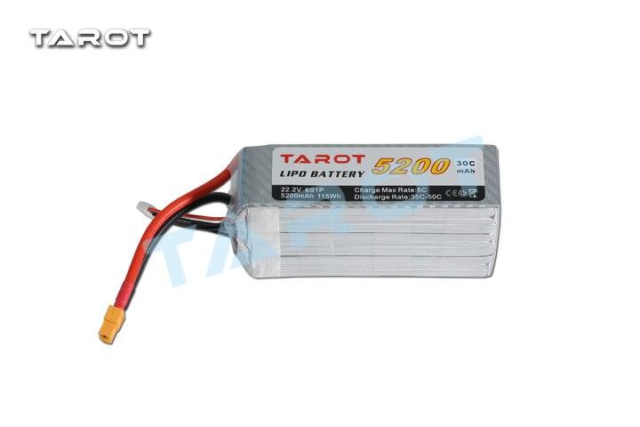 Tarot 22.2V 5200mAh 30C Batteries - LiPo  For RC Helicopter