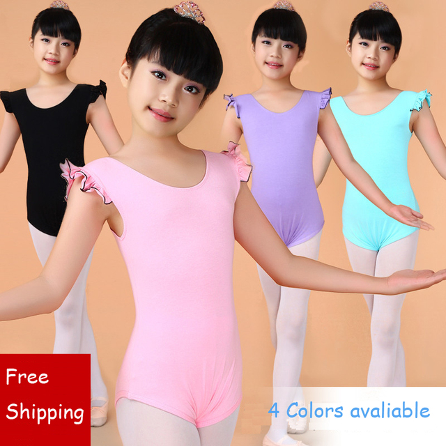 2765169a1be6 Gymnastics Leotard Dance Wear Ballet Tutu Dance Clothes Girls Ballet ...