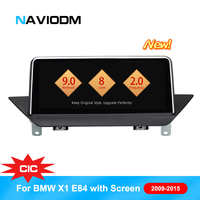 Android 9.0 8 Core Car DVD multimedia Player for BMW X1 E84 2009 2015 With original screen CIC system car DVD player car Audio