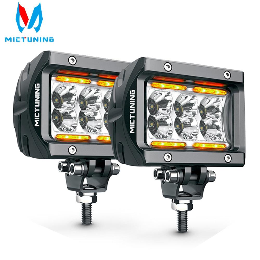 MICTUNING Car Led Work Light Bar Unlimited-GO K1 4