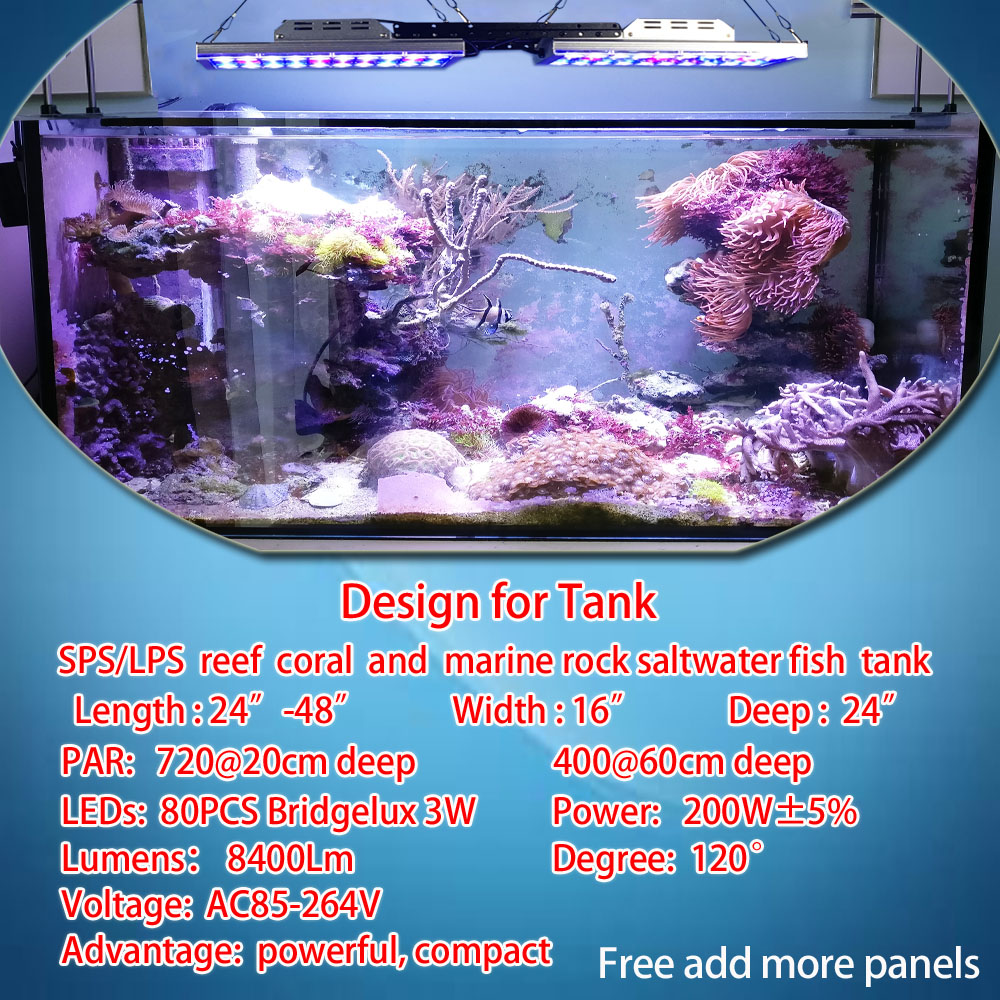 dsuny full range of led aquarium lighting marine reef aquarium lamp wifi controller sunrise sunset pecera acuario marino luz in lightings from home garden