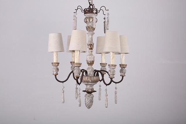 Verlichting Woonkamer Hanglamp : Amerikaanse woonkamer lamp oude hout art retro hanglamp cafe