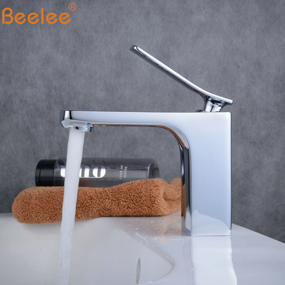 Beelee Chrome Finish Waterfall Bathroom Faucet Bathroom Basin Mixer Tap with Hot and Cold Water BL6601Beelee Chrome Finish Waterfall Bathroom Faucet Bathroom Basin Mixer Tap with Hot and Cold Water BL6601
