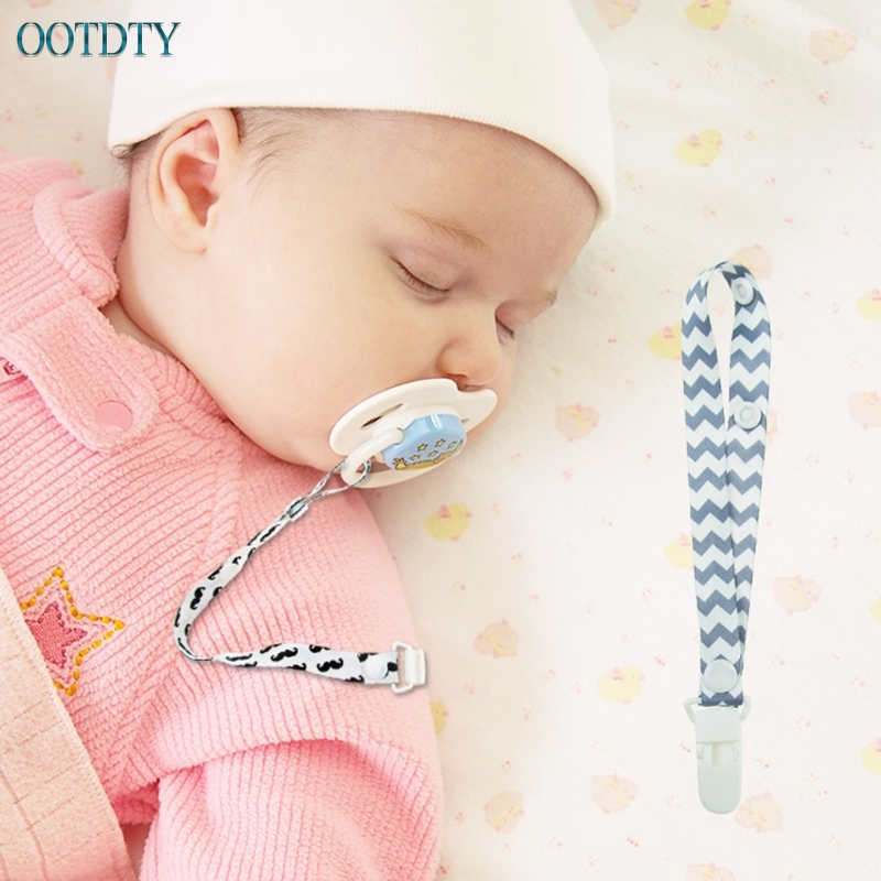 Boys Bling Soother Pacifier DUMMY HOLDER CLIP MAM tool 4PCS Baby safety Girls
