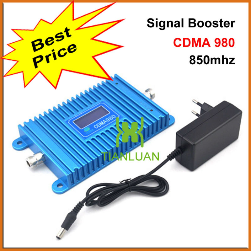 2G 3G CDMA850Mhz Mobile Phone Signal Booster CDMA 980 Cell Phone 850Mhz Signal Repeater Amplifier with Power Adapter LCD Display2G 3G CDMA850Mhz Mobile Phone Signal Booster CDMA 980 Cell Phone 850Mhz Signal Repeater Amplifier with Power Adapter LCD Display