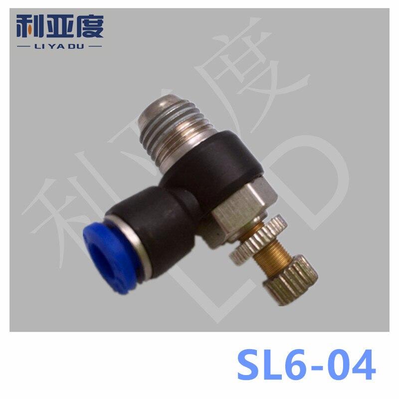 Aliexpress.com : Buy SL6 04 Pneumatic quick L type