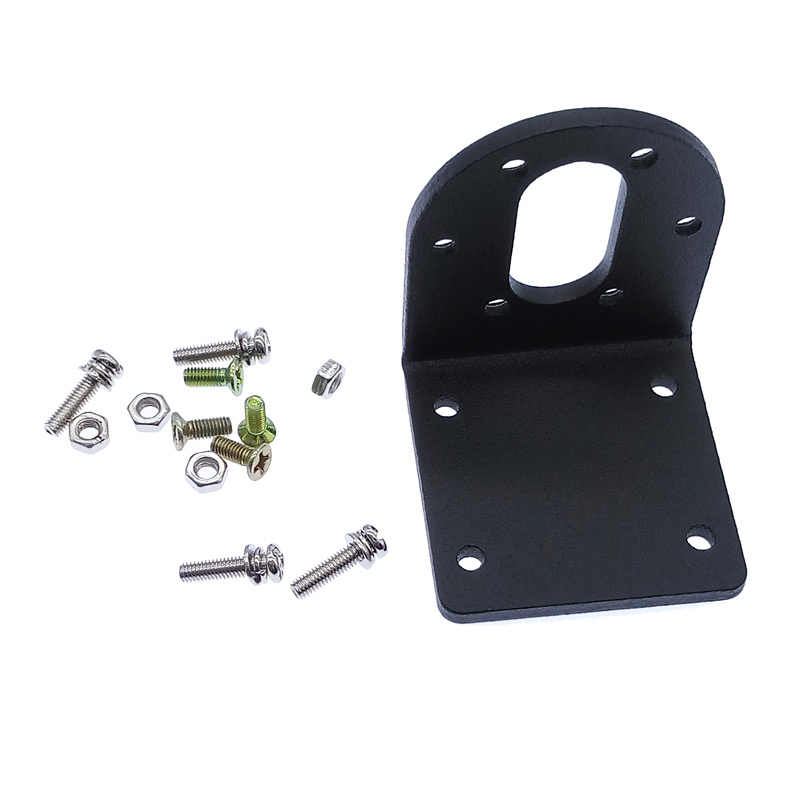 Aluminium alloy  37mm  37GB(GA) gear motor Bracket with  Matching screw