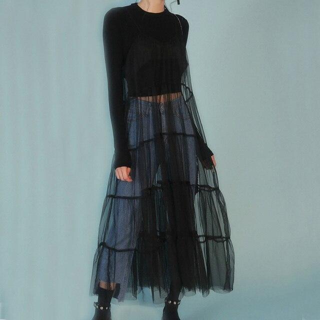 d9c81487f2f New Vintage Maxi Dress Summer Autumn Women Tunic Long Gauze Dress Beach  Party Sundress Plus Size