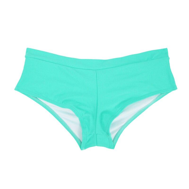 Летний женский спортивный купальный костюм, брюки, одежда для плавания, купальник с заниженной талией, сексуальные плавки для девочек с принтом, B605 - Цвет: B605F