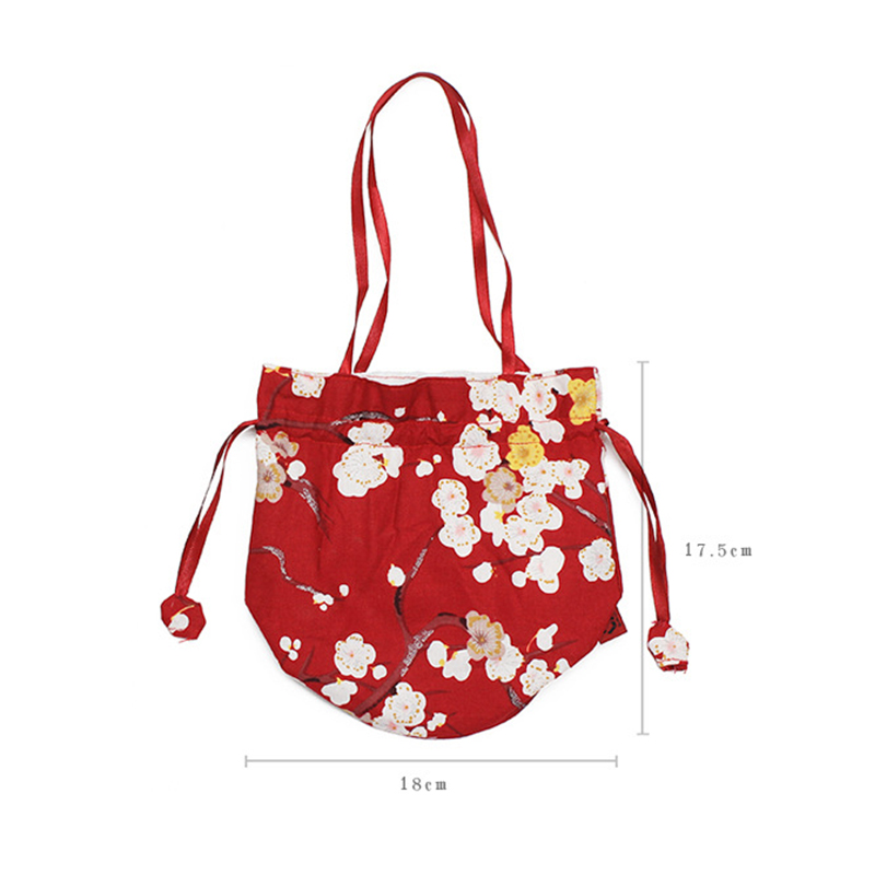 de cordão kimono bolsa elegante