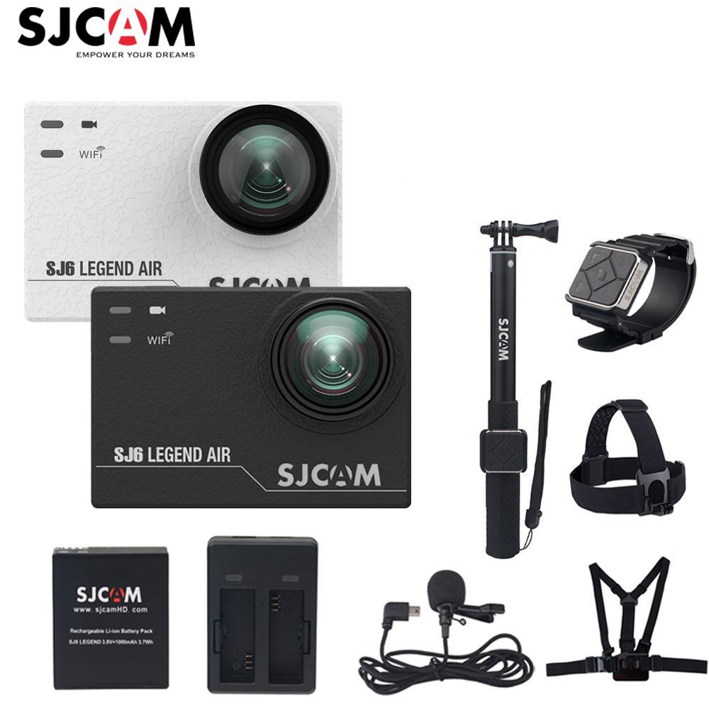 "100% Original SJCAM SJ6 LEGEND Air Wifi 4K 24fps 2.0"" Touch Screen Ultra HD 30M Waterproof Sports Action Camera Car Mini DVR"