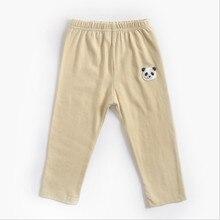 Детская одежда леггинсы для девочек детские штаны с героями мультфильмов осенне-зимние хлопковые брюки для мальчиков нейтральные хлопковые леггинсы