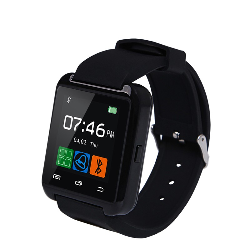 Smart Watches U8 Sport  Pedometer Handsfree Bluetooth Smartwatch Wristband for Android Phone black one size 14