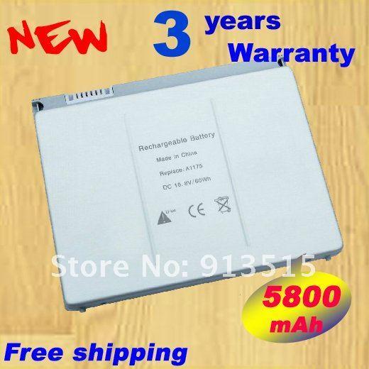 """Nueva batería para Apple Macbook Pro 15 """" MA601 fits Macbook Pro 15 """" pulgadas M609 A1175 MA348G / A A1150 + envío gratuito"""