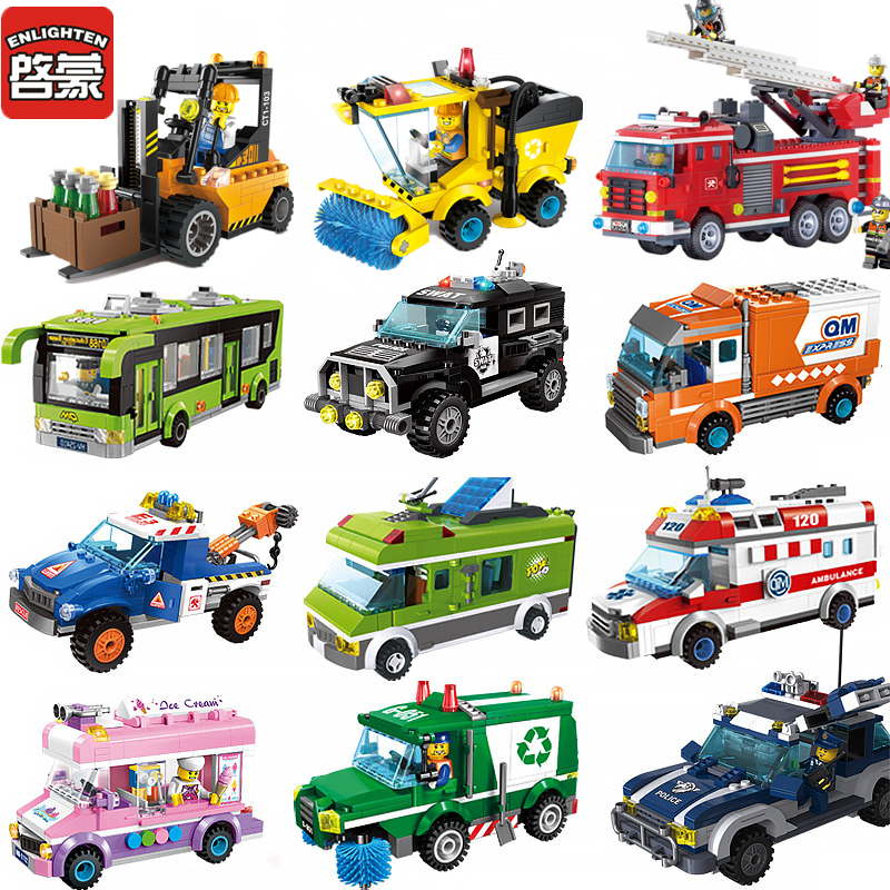 2018 compatible legoed vehicle tractor city series car. Black Bedroom Furniture Sets. Home Design Ideas