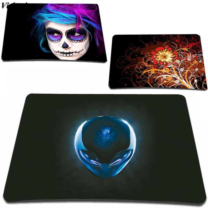 Viviration Universal Small Size Gaming Mouse Pad Rubber Anti-slip Computer PC Mouse Pad Optical Mice Mat For Trackball Mouse Pad
