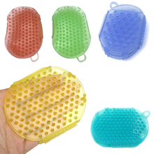 Lowest price!Anti Cellulite Bath Silicon Shower Body Massager Multifunctional Meridian Women Siliconexfoliator Brush Glove Scrub