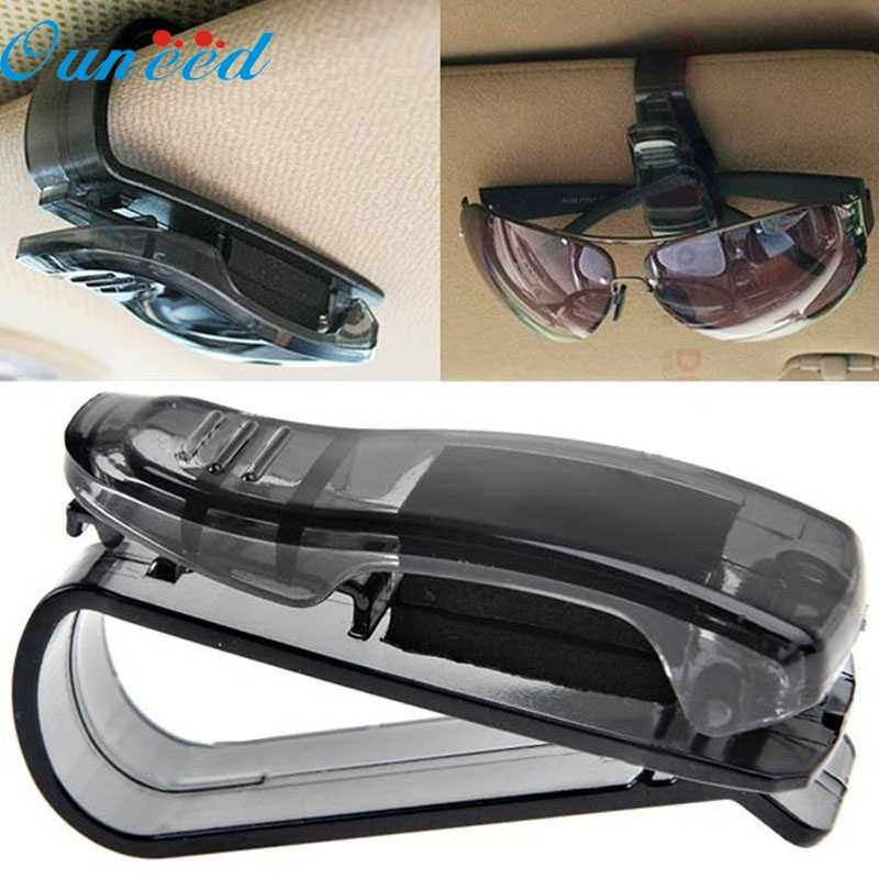 Hot Sale Auto Fastener Cip Auto Accessories ABS Car Vehicle Sun Visor Glasses Sunglasses Ticket Receipt Card Clip Storage Holder