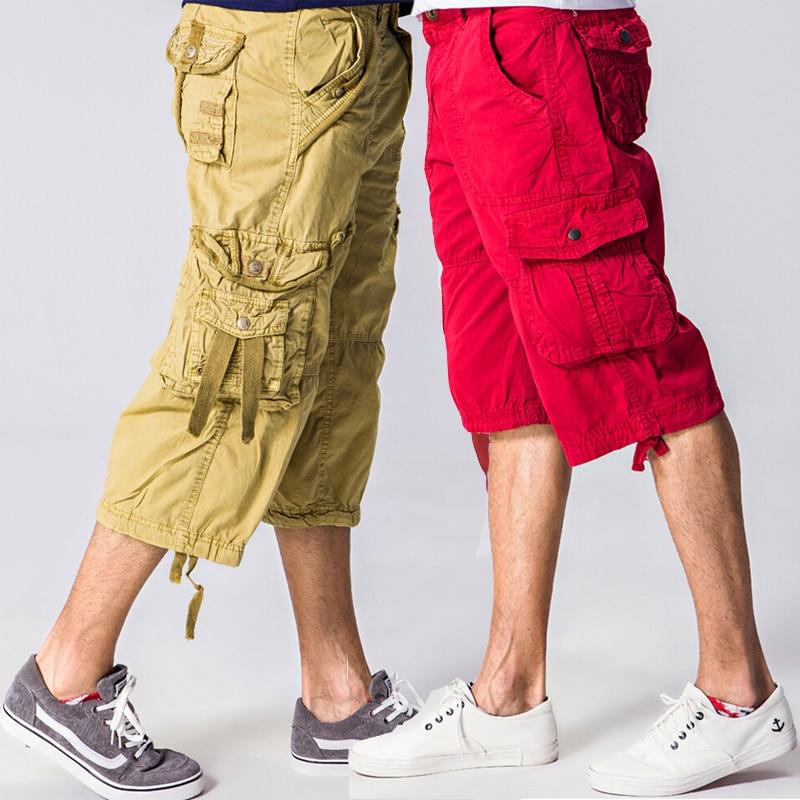Online Get Cheap Mens Long Khaki Shorts -Aliexpress.com | Alibaba ...