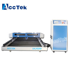 Jinan AccTek desktop table co2 laser cutting machine price , co2 150w laser cutting machine