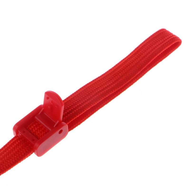 Corde de lanière de poignée de main de dragonne courte de 17cm pour la télécommande de Nintendo Wii