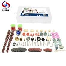 Rijilei 136 шт комплект принадлежностей для вращающихся инструментов