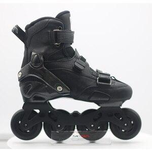 Image 5 - 100% Original 2019 SEBA Trix2 Erwachsene Inline Skates Roller Skating Schuhe Rockered Rahmen Slalom Schiebe FSK Patines Adulto