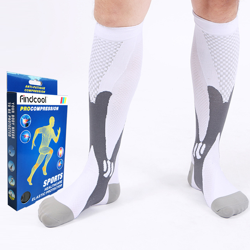 FINDCOOL Women Professional Compression Socks Breathable