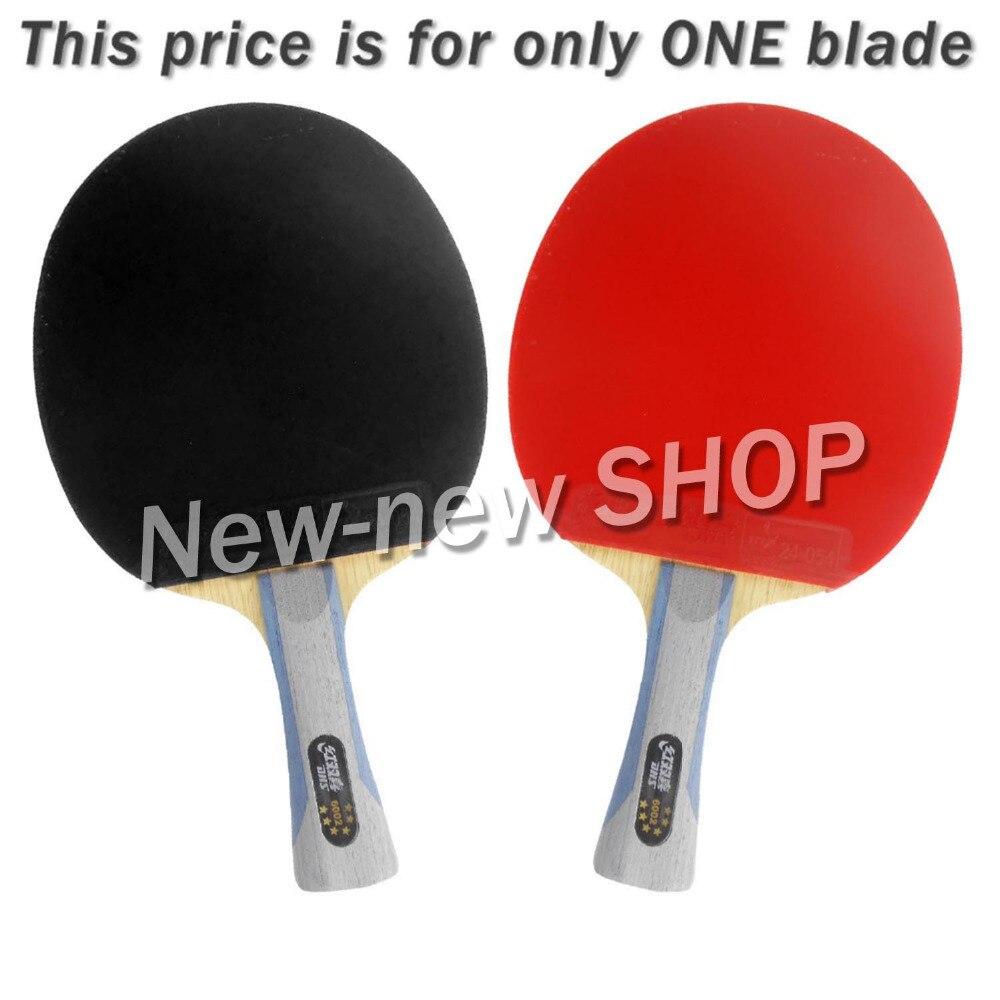 DHS 6002 Long Shakehand FL Table Tennis Ping Pong Racket a Paddle Bag shakehandLong Handle FL