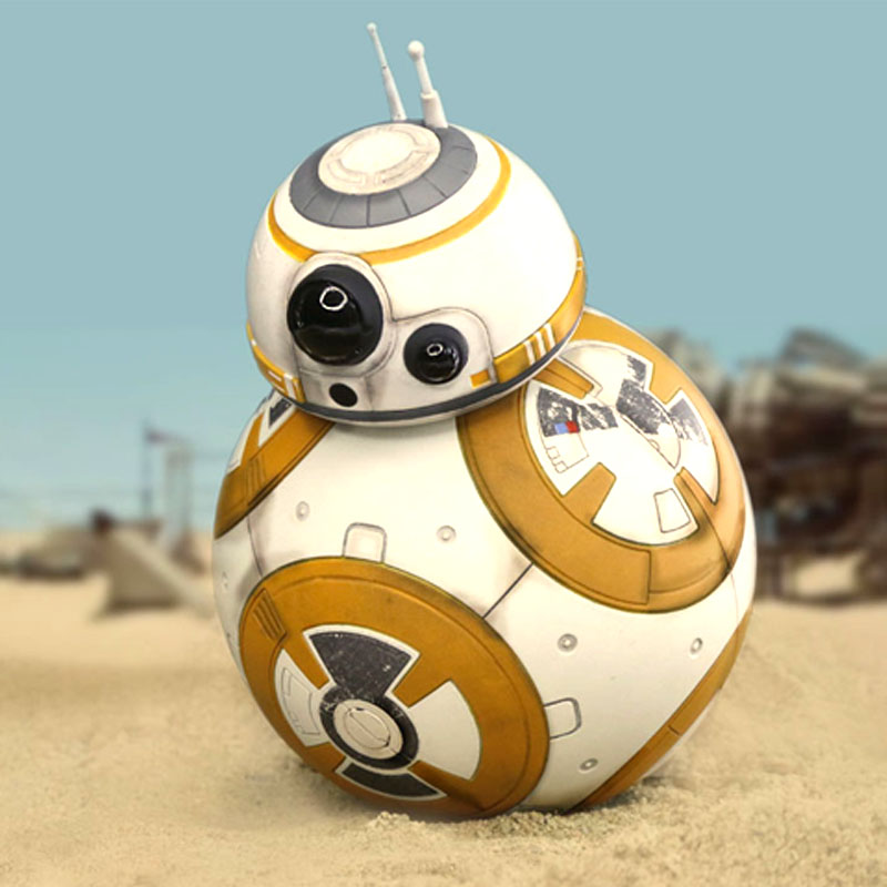 New Walkable ABS metal Rolling BB8 BB-8 <font><b>Star</b></font> <font><b>Wars</b></font> <font><b>Rogue</b></font> <font><b>One</b></font> BB8 BB-8 R2D2 Droid Robot <font><b>Action</b></font> <font><b>Figure</b></font> Christmas toys gifts