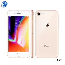Apple iPhone 8 64 Гб/256 ГБ шестиядерный IOS 3D Touch ID LTE телефон 12,0 МП камера 4,7 дюймов отпечаток пальца 1821 мАч мобильный телефон