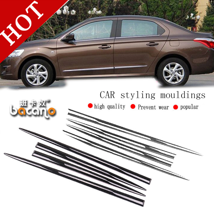 BACANO Car Door Anti-rub Anticollision Bumper Strip Rub Strip Crash BarCorner Bumper Guards Buffer Trim Molding Free Shipping free shipping roland sp540 encoder strip sensor