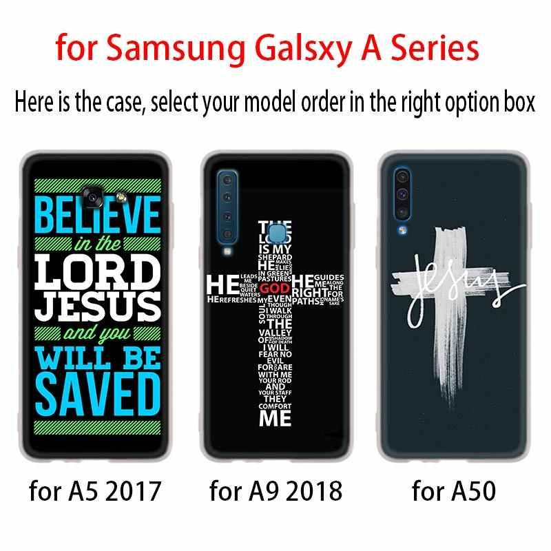 Cristianesimo Amore di Gesù Soft Cover Cassa Del Telefono Per Samsung Galaxy A50 A10 A20 A30 A40 A60 A70 A6 A8 Più a7 A9 2018 A3 A5 2017