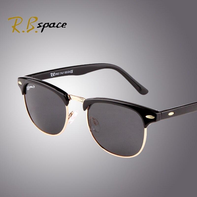 a79af081c Rbspace 3016 استقطاب رجل نظارات أزياء النظارات الكلاسيكية الرجعية avaitor  النساء نظارات للجنسين مجموعة متنوعة من الألوان