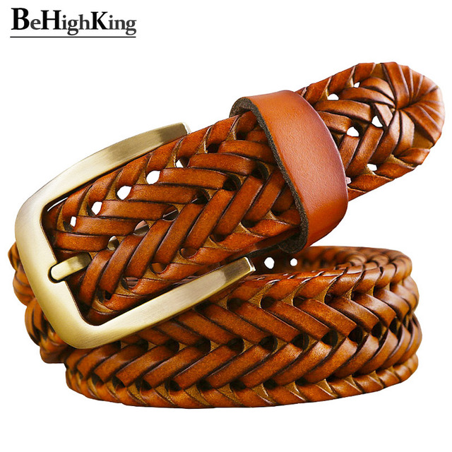 Plated Leather Belt 2