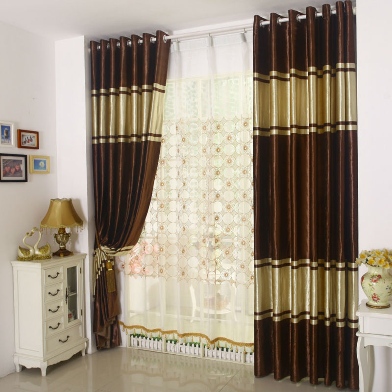 The latest window curtains for living room bedding room - Latest curtain design for living room ...