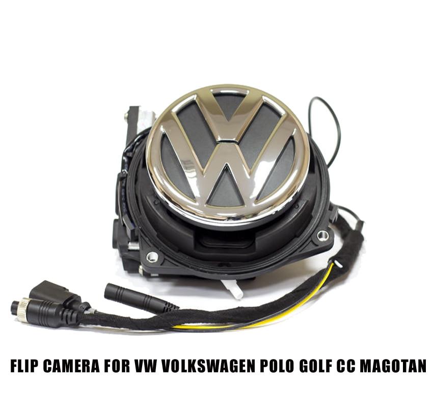 flip embl me logo cam ra de recul pour vw volkswagen golf 5 6 7 phaeton passat b6 cc logo. Black Bedroom Furniture Sets. Home Design Ideas