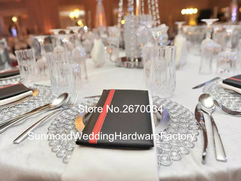 Aliexpress Beaded Gl Charger Plates For Wedding From Reliable Suppliers On Sunmoodweddinghardwarefactory